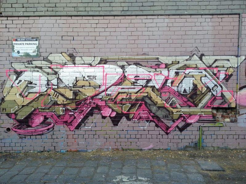Graffiti Streetart Monster Dem189