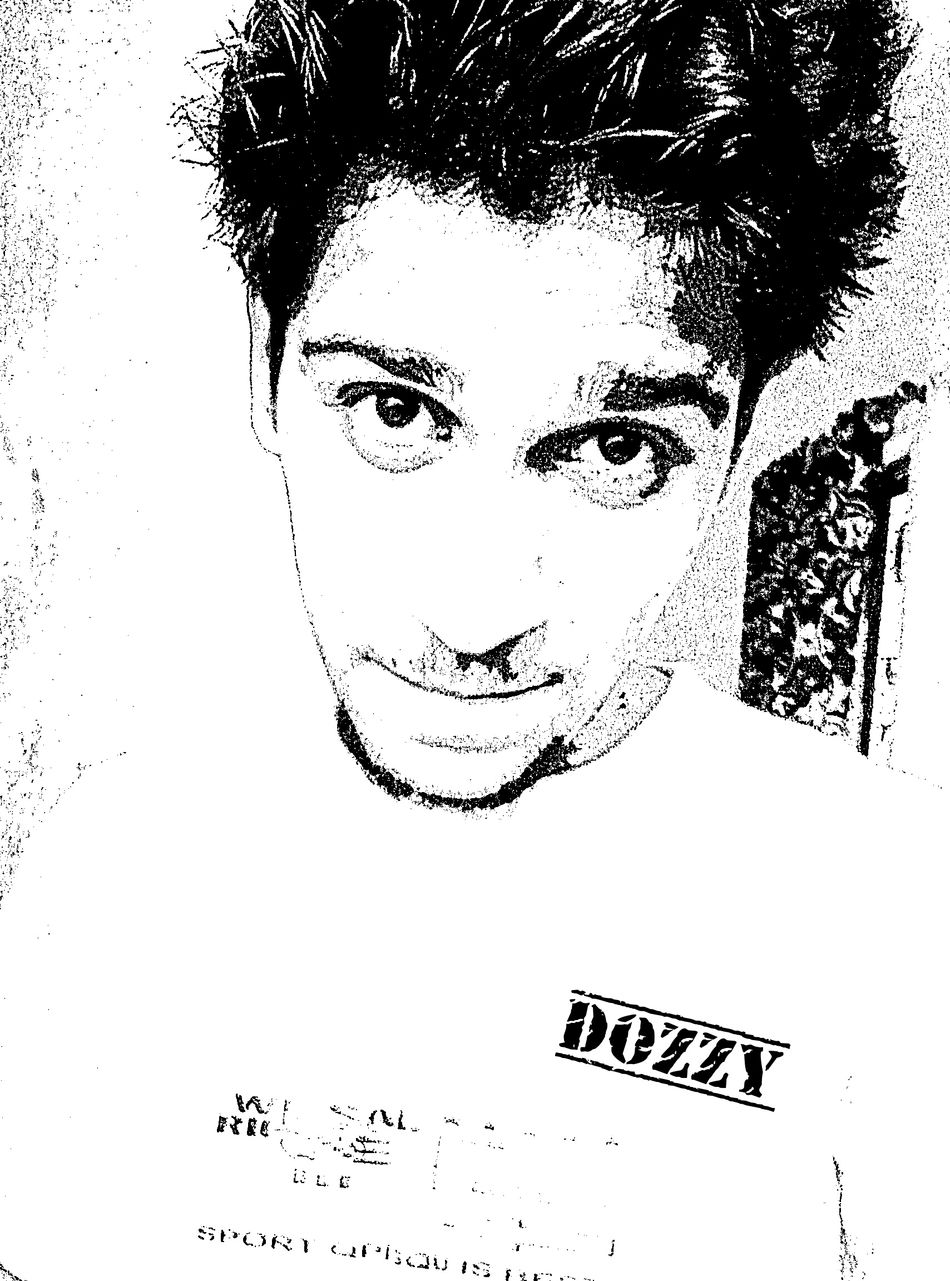 That's Me Sketching Edited Starring At The World ..... Dz