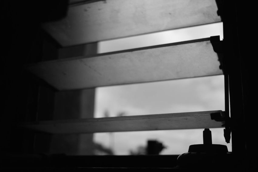 BnW. The view from my window just a piece of a light tho. Blackandwhite Nikon Contrast Monochrome Photography