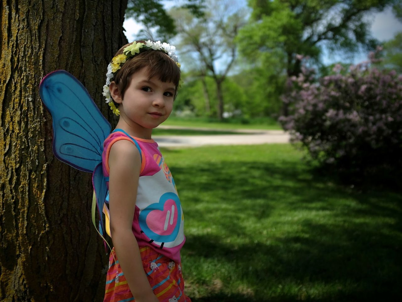 Beautiful stock photos of fairy,  4-5 Years,  Butterfly,  Child,  Childhood