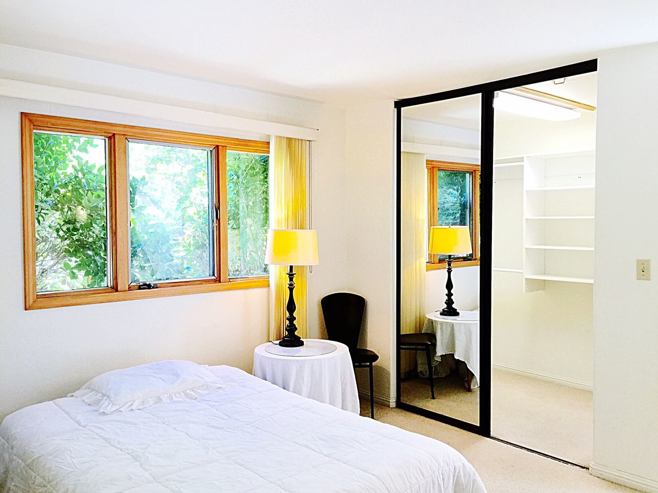 Interior Style my house Home House Room Bed Mirror Window Trees Closet Walkin Closet Shelves Build In Shelves Architecture Interior Interior Design Building Design Color Palette Eyeemphoto