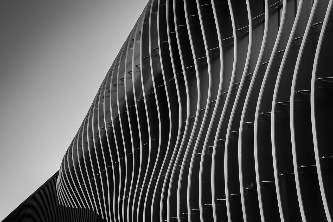 Architectural Feature Architecture Architecture_collection Backgrounds Blackandwhite Building Exterior Built Structure Close-up Day Geometric Abstraction Geometry Low Angle View Modern No People Outdoors Pattern Structure The Architect - 2017 EyeEm Awards