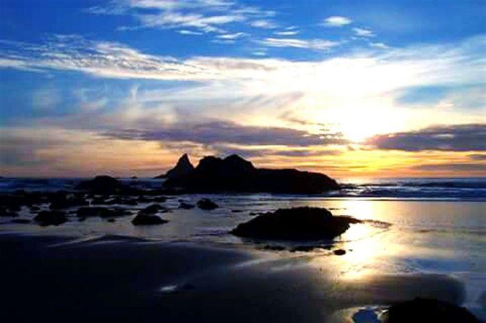 Harris Beach State Park Oregon Coast.