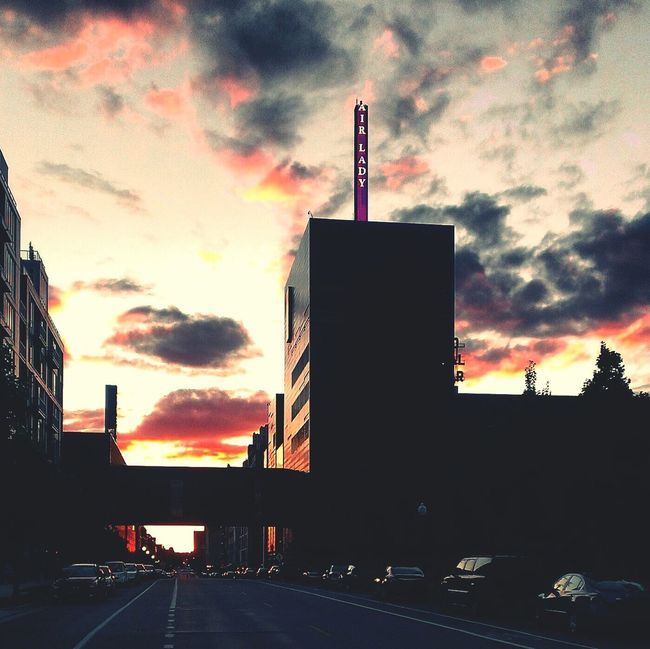 Guthrie Theatre Downtown Sunset Myfairlady