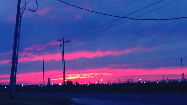 Urbanphotography Oklahoma Skies Taking Photos Hanging Out Pink Skies Beautiful Sunset