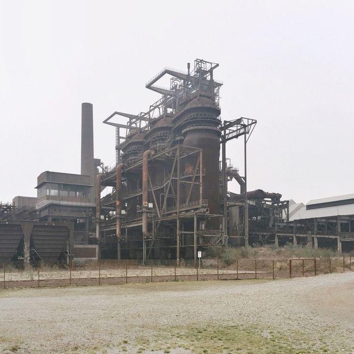 Industrial Industrial Landscapes Steel Works Ruhrgebiet