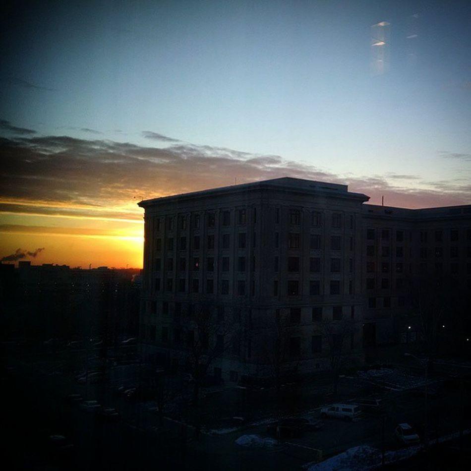 Sunrise over Lovelansing .