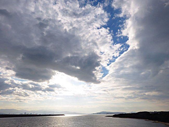 OnTheBridge Bridge Sea Seaside Seascape Sea And Sky Sea View Seaandsky Sky_collection Clouds And Sky