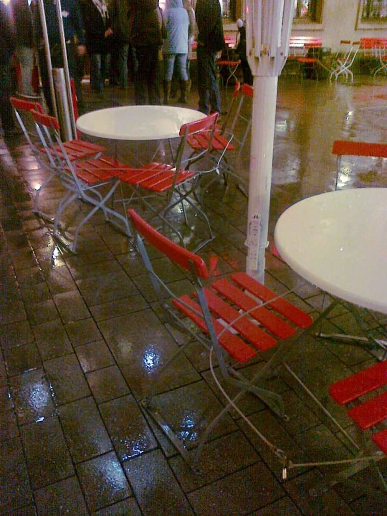 Chairstories Empty Chairs And Empty Tables Tables And Chairs Chairs Rainy Night Köln Kolschbeer Früh