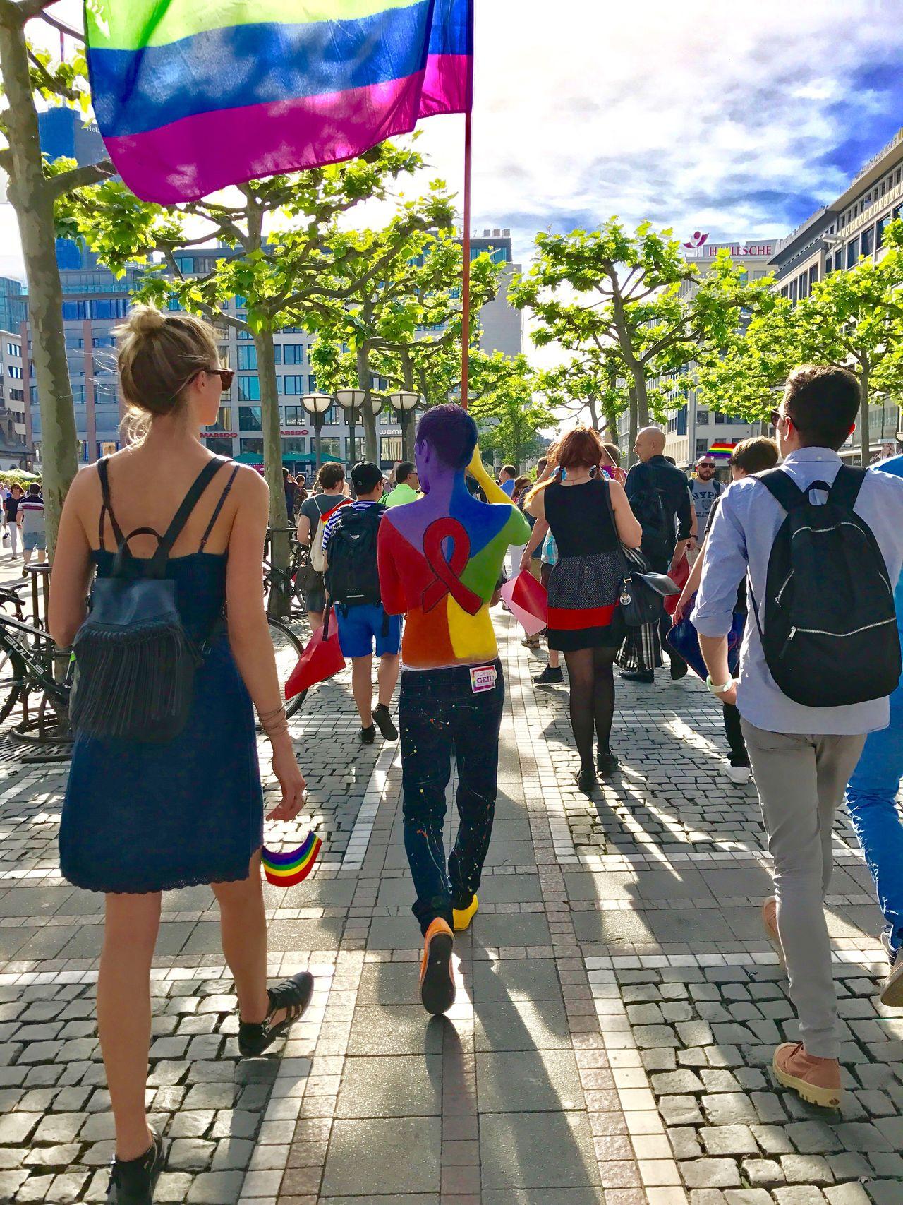Equal rights Stop Homophobia Stop Racism. Frankfurt's Life Frankfurt Am Main Idahot
