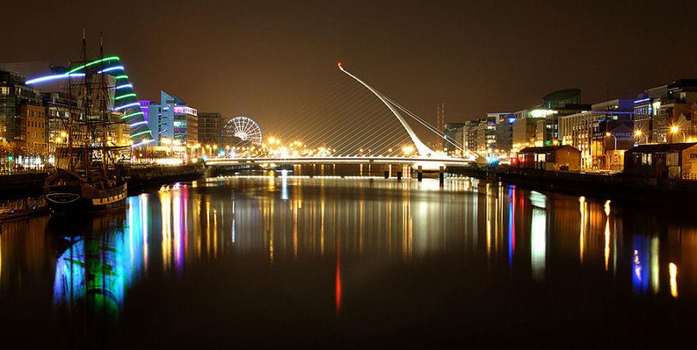The Liffey Liffeyriver Nikon Dublin Ireland City