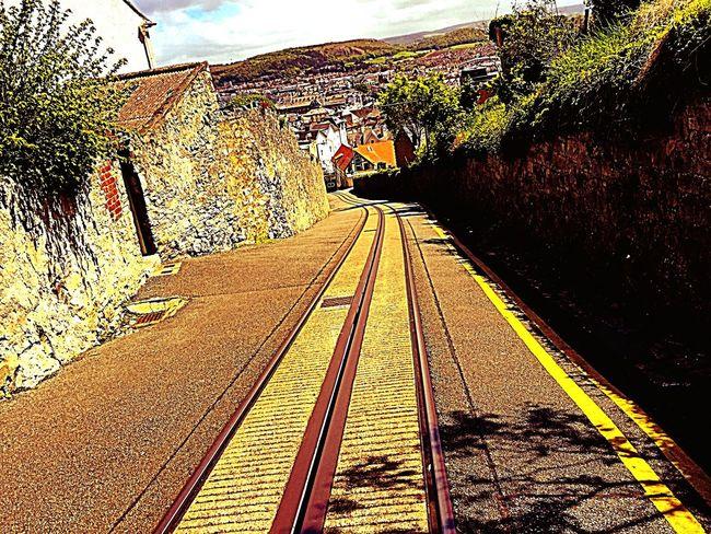 Tramway Ilovetakingphotographs Travel Photography Enjoying Life Enjoying The Sights North Wales England Train Tracks Tracks Weekend Travelphotography Northwales Tramtrack