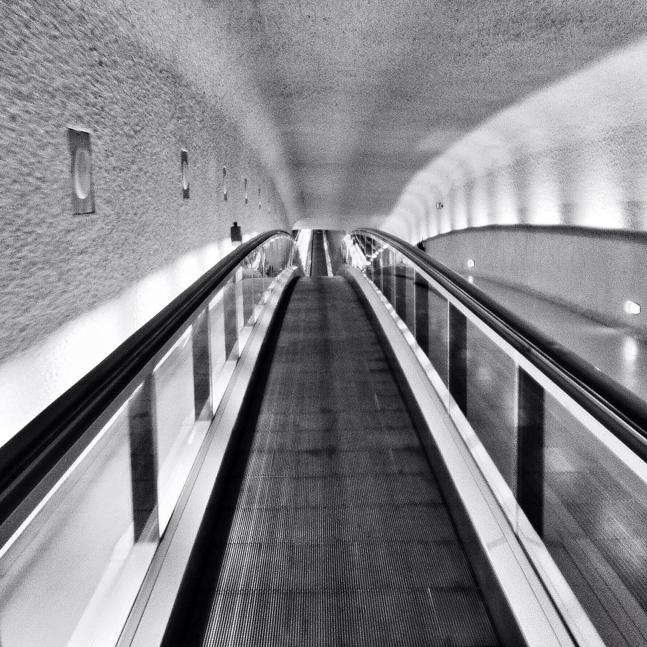 Blackandwhite Escalator Architecture Monochrome