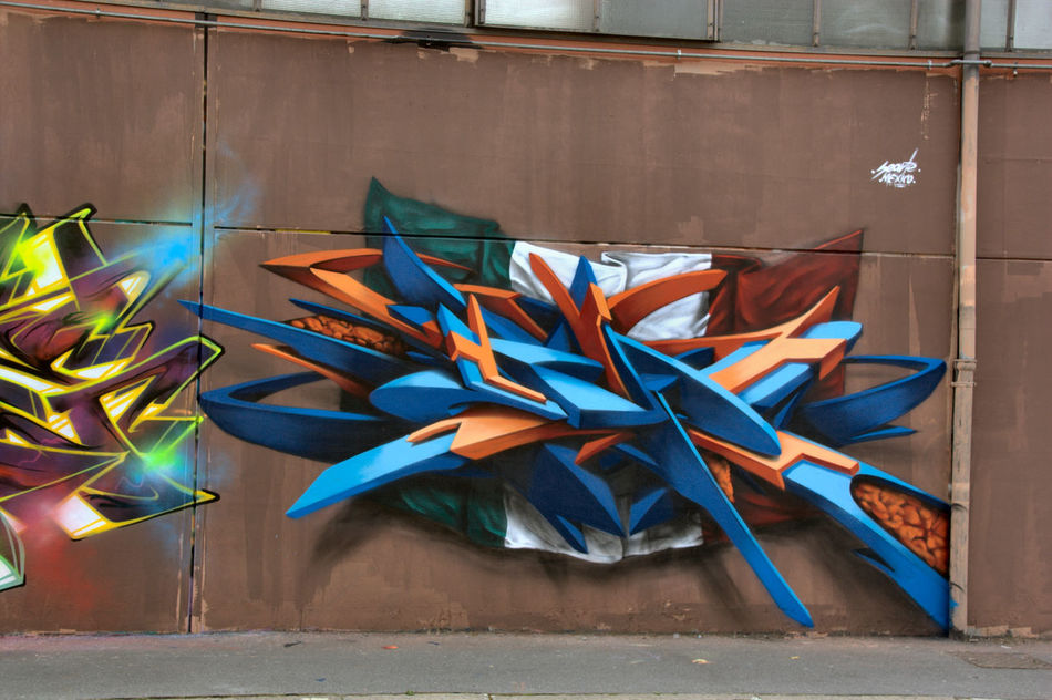 MOS 2016 (Meeting of Styles) 3D Art Colors Day Eyeem Art Lover EyeEm Gallery Graffiti Industrial Wall MOS 2016 (Meeting Of Styles) Murales Muralesart Outdoors Street Art Tag No Tag Tags