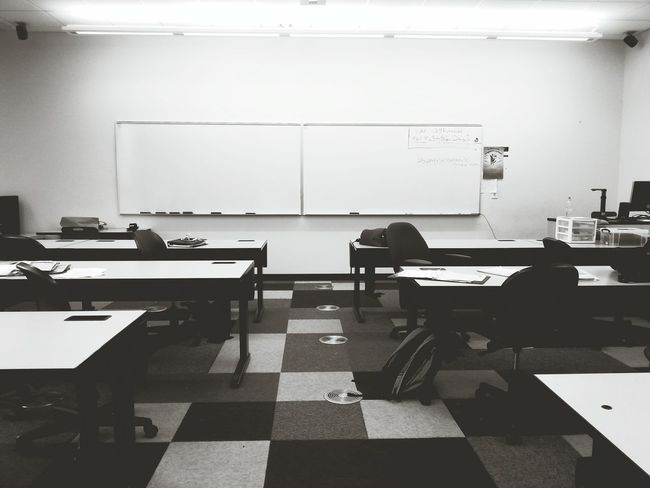 Boring Class Taking Photos