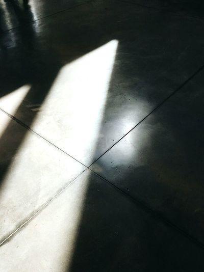 Shadows of sharpness Shadow Sunlight Indoors  No People Close-up Barcelona Sky Dark Shadows Day Ice Rink