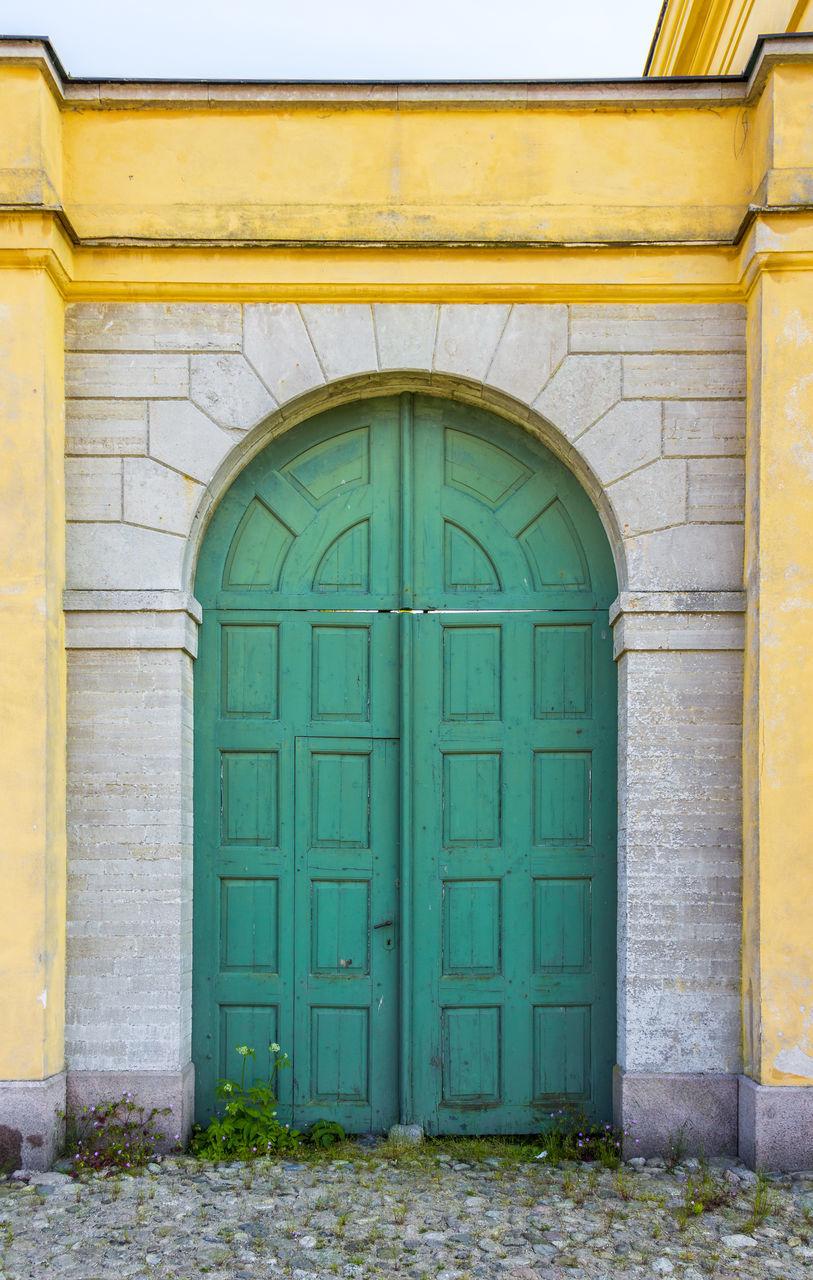Door At Old Building