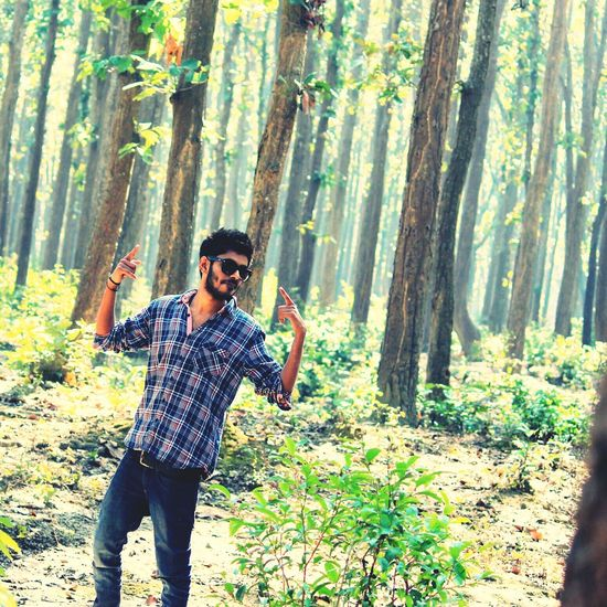 That's Me In Forest Fun Times Pose