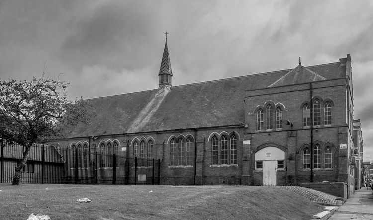 Saint Michael's Parochial Buildings, Saint Michael's Mount, Northampton Black And White Northampton Architecture Chuches