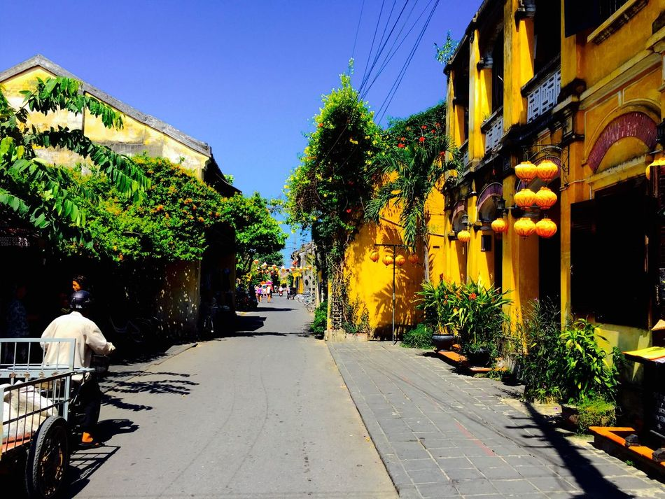 Art Is Everywhere Travel Holiday Travel Destinations Travel Photography Fernweh City EyeEmNewHere Streetphotography Architecture Nature In The City Summer in Hoi An , Vietnam