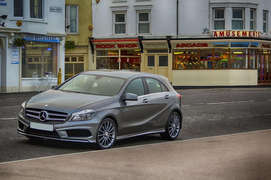 Mercedes-Benz Merc German Cars A200amg Amusement  Chip Shop Deal Kent New Car Car Shoot Grey Car