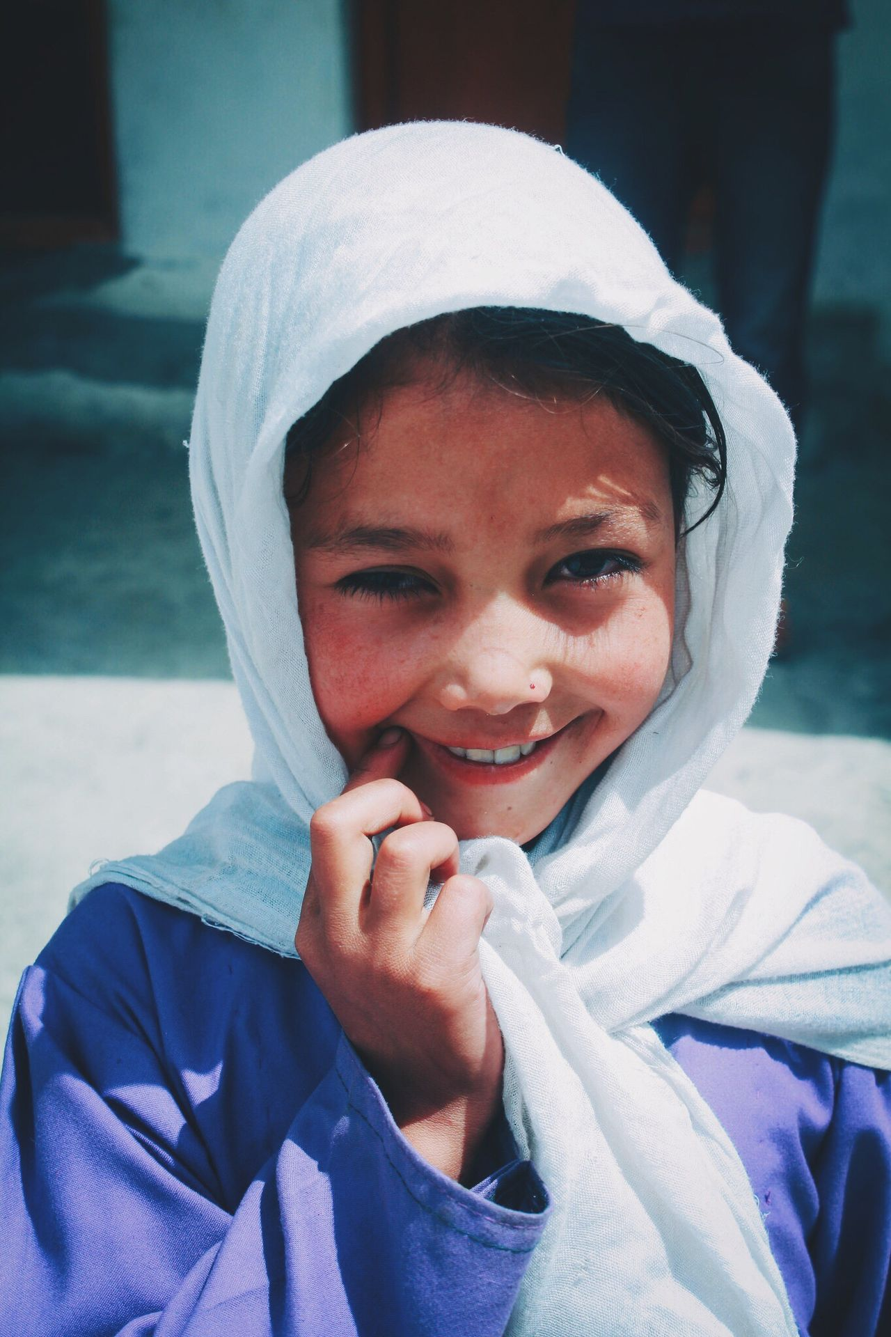 Innocent Smile Cute Smile  Kashmir Beauty Turtuk Village SchoolGirl Beautiful Very Cute Portrait Of Girl Portfolio Head Shots