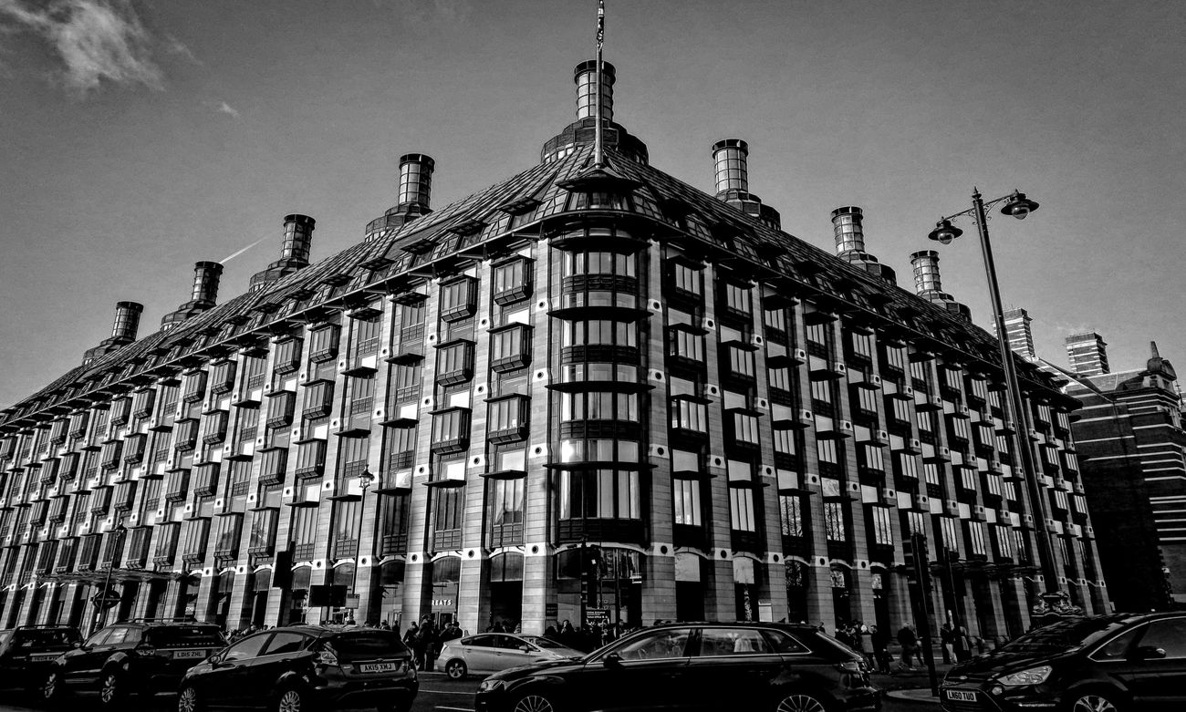 Architecture Building Exterior Outdoors Low Angle View Built Structure City Sky Blackandwhite Photography Monocromatic Bnwphotography Monocrome Photography Blackandwhiteonly Contemporaryphotography Bnwmood Bnwlovers Monochrome Black And White Bnw Urban Perspectives Streetphotography_bw Stree Photography