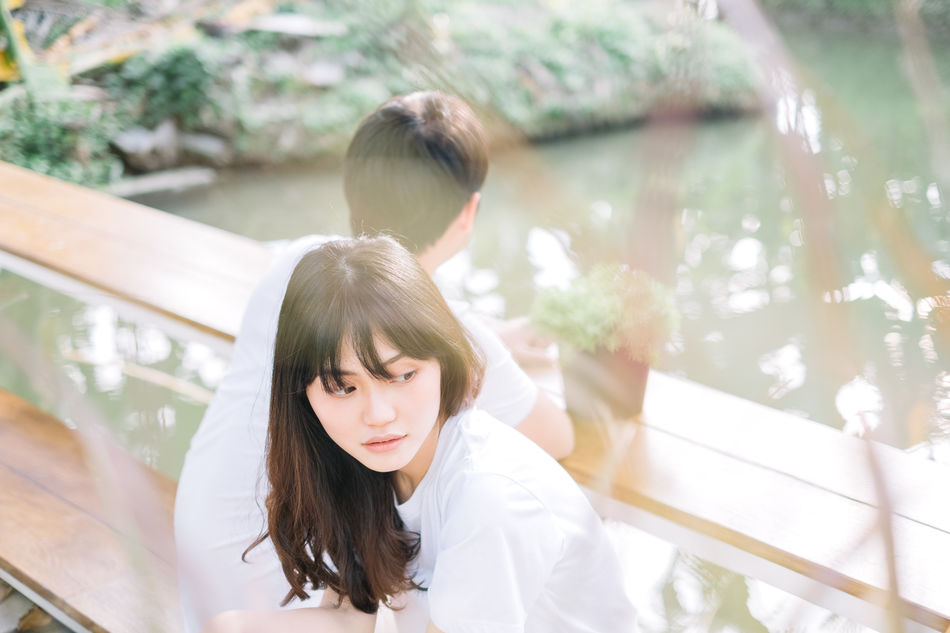 Bangkok Childhood Couple Couple - Relationship Couples❤❤❤ Day EyeEm Focus On Foreground Girls Inlove Leisure Activity Lifestyles Love Lovely Nature Outdoors Prewedding Real People Standing Tree Water Women Women Portraits Young Adult Young Women