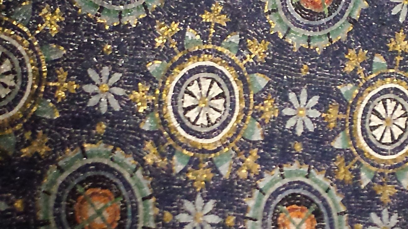 Galla Placidis Ravenna Art Mosaic