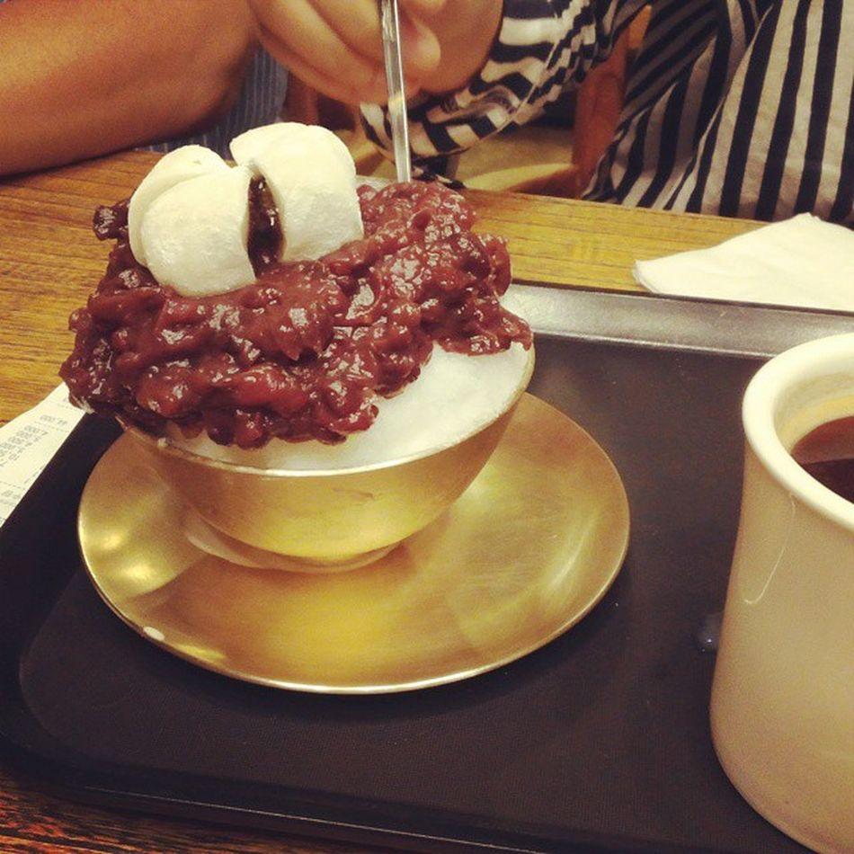팥빙수 Cafe85°C