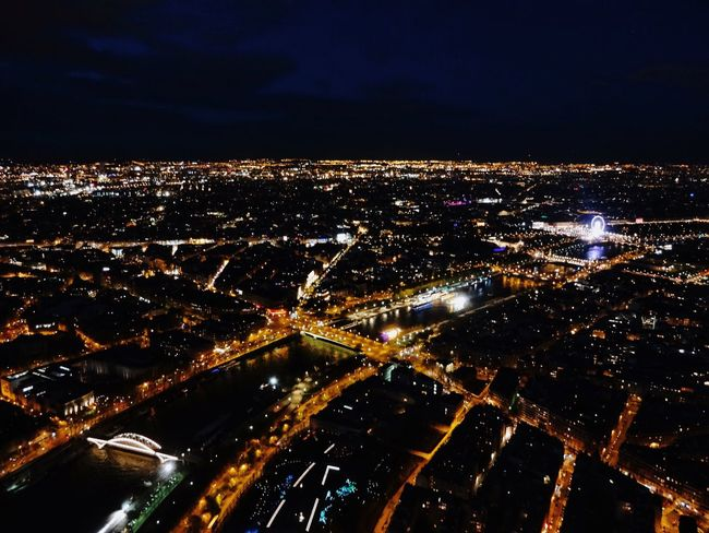 Last night on top of the Eiffel Tower Paris, France  First Eyeem Photo