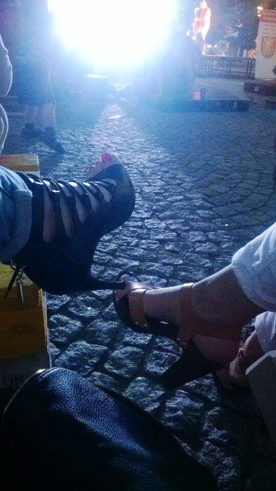 Szpilki w wielkim mieście! Shoes ♥ Shoeselfie Concert Bialapodlaska People Watching Maipiúsenza Deezee