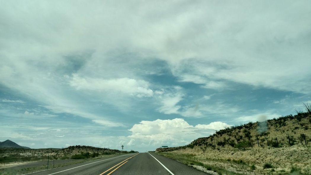Ontheroad Bigskiesoftexas Western View Eyeemclouds Traveling