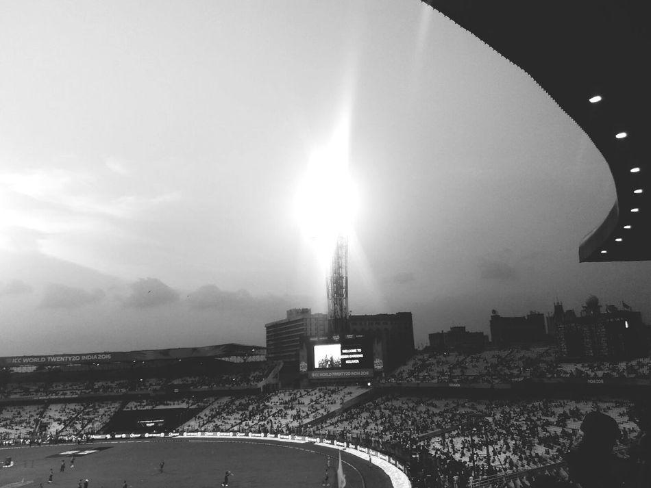 Prematch Icct20 Finals Stadium Check This Out Hello World Calcutta Phonecamera
