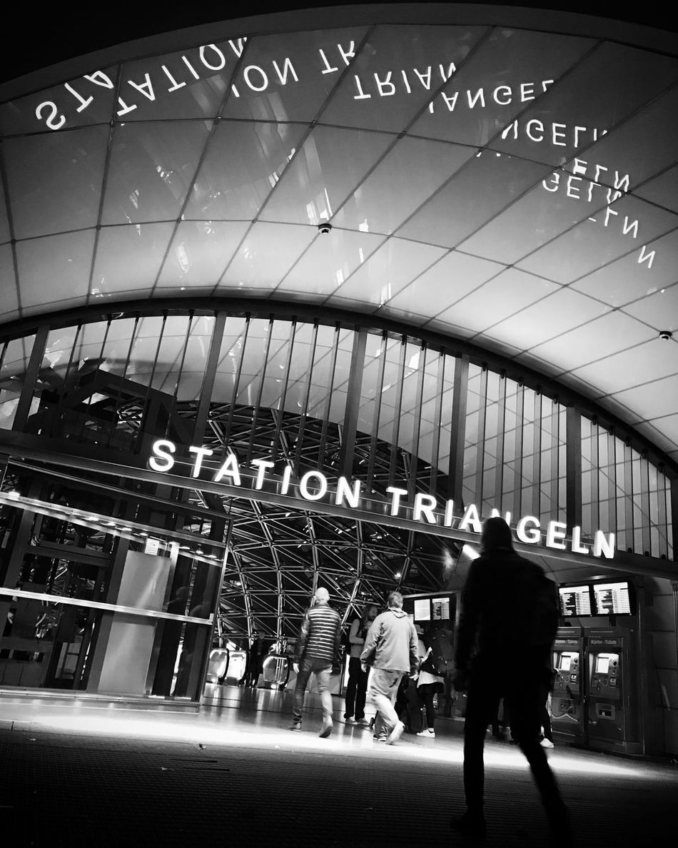 Transportation Subway Station Architecture Malmö Black And White Bw_collection Monochrome Street Photography