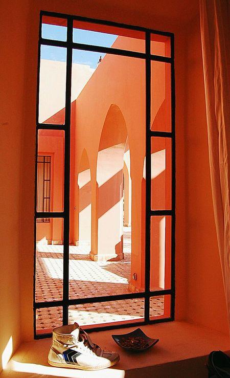 Maroc Essaouira Perspectives Perspective Ombre Africa Vue De Ma Fenetre Par La Fenetre Riad Contrast
