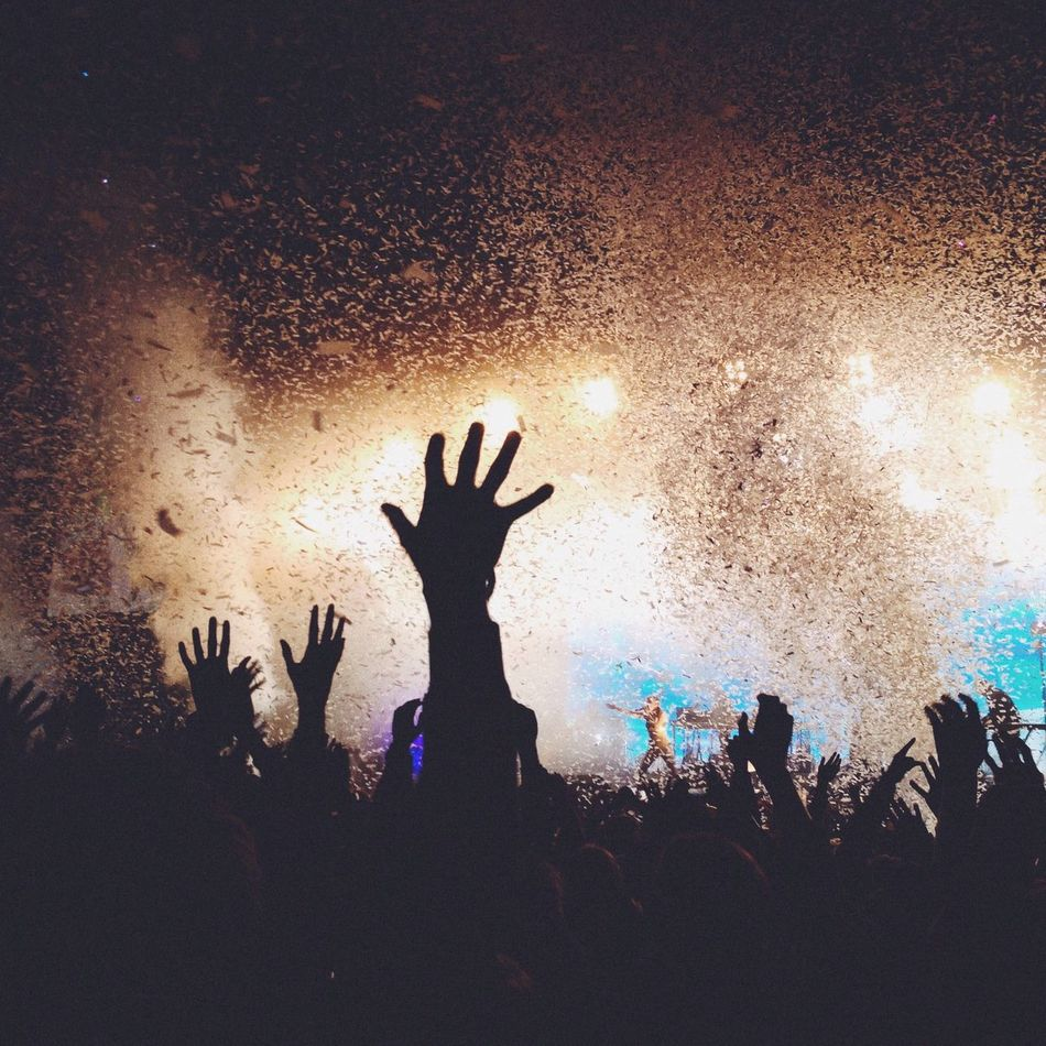 Beautiful stock photos of concert, Arts Culture And Entertainment, Celebration Event, Concert, Confetti