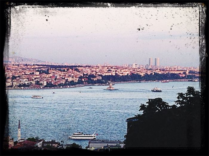 Taksim Bosborus Bridge Istanbul Hello World