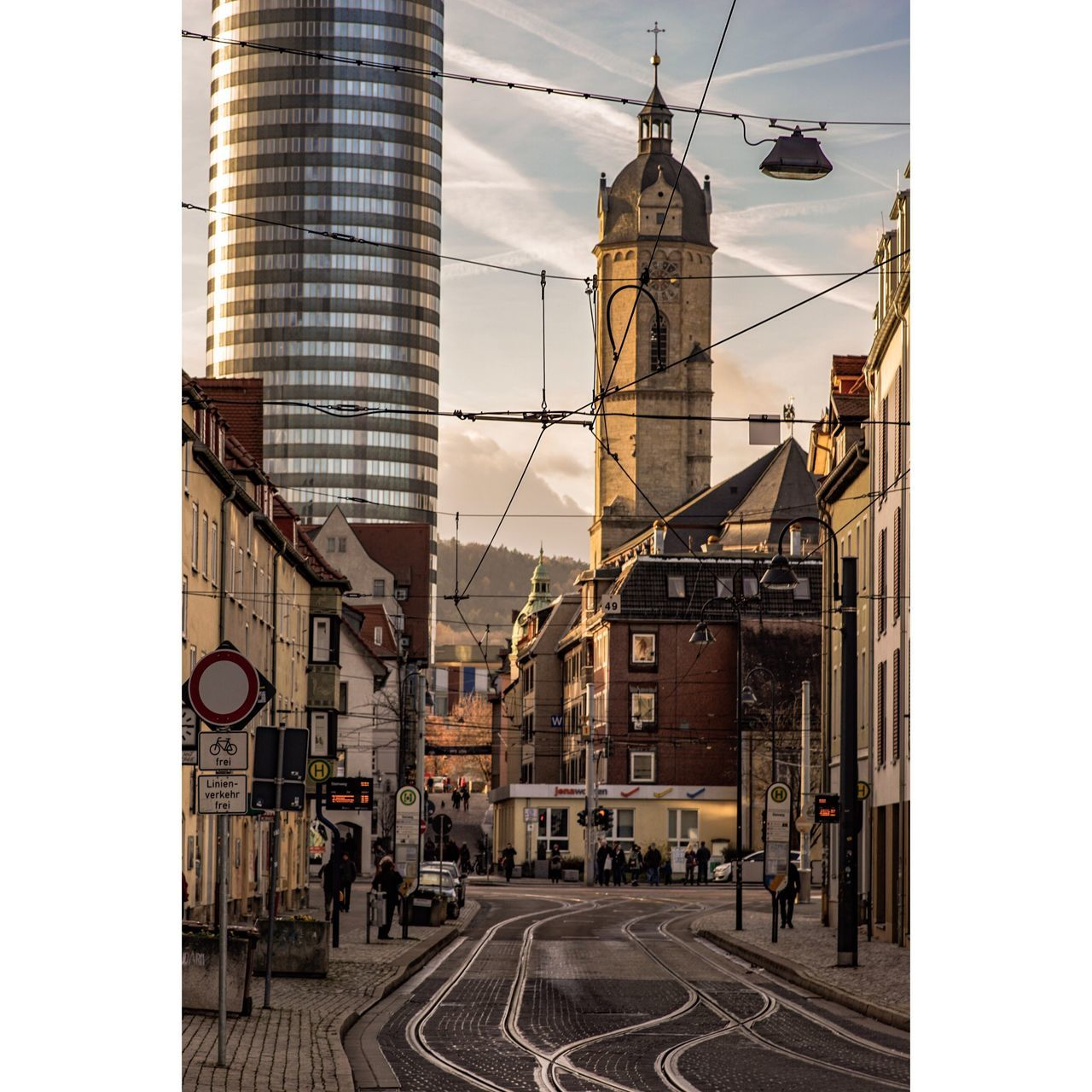 City Jena Built Structure Building Exterior Architecture Sky City Outdoors Travel Destinations Cloud - Sky Day Low Angle View No People Clock City Gate