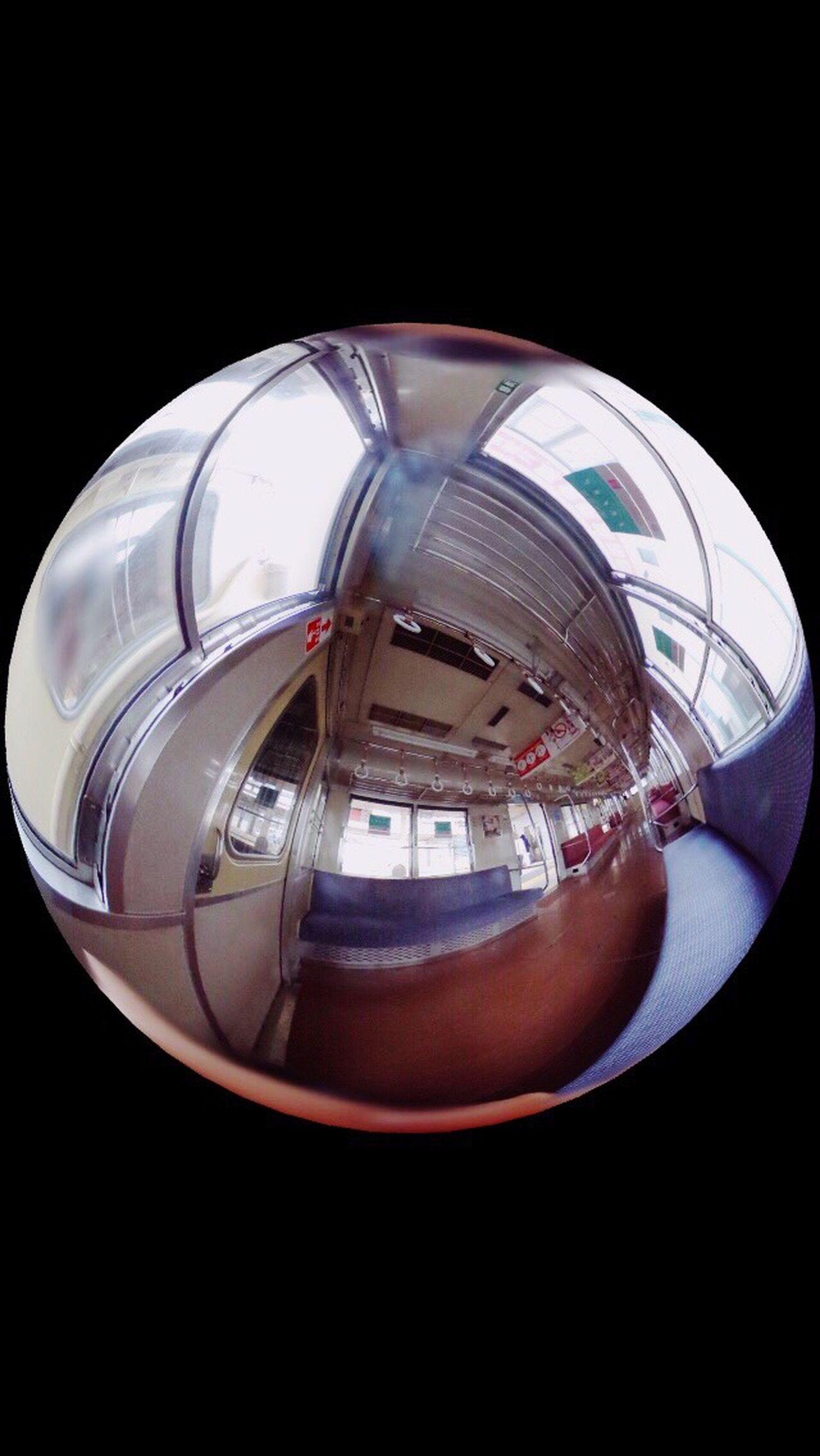 電車 帰宅途中 青春 帰り 写真好きさんと繋がりたい Ricohtheta 360°