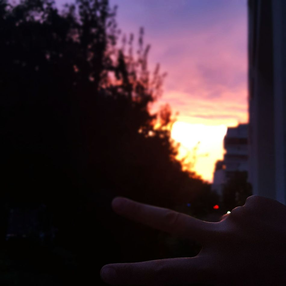 Beautiful First Eyeem Photo Landscape Sky Paris Night Sunset