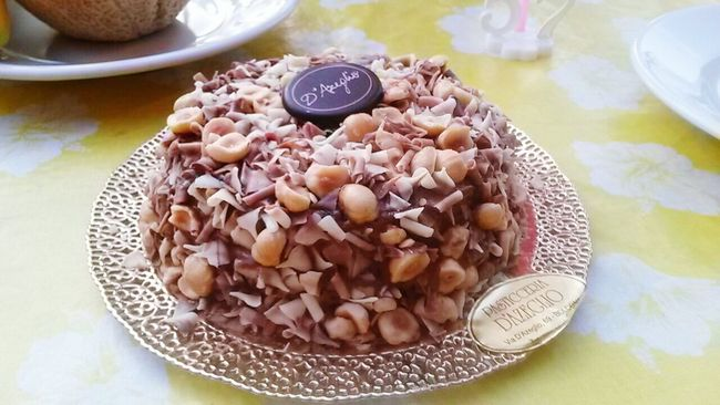 Yummylicious Chocolate And Nuts Delicious ♡