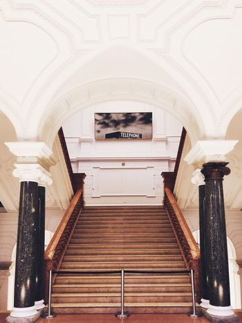 Staircase of Museum of Communication Berlin Berlin Museum EyeEm Selects Architecture Built Structure Arch Steps And Staircases Indoors  No People
