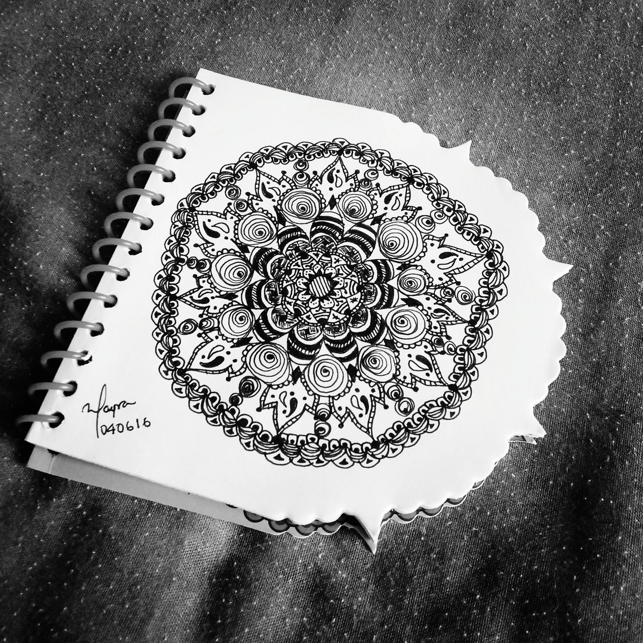 Black And White Mandala Being Inspired Zebra Art, Drawing, Creativity EyeEm Gallery Zentangleart Taking Photos