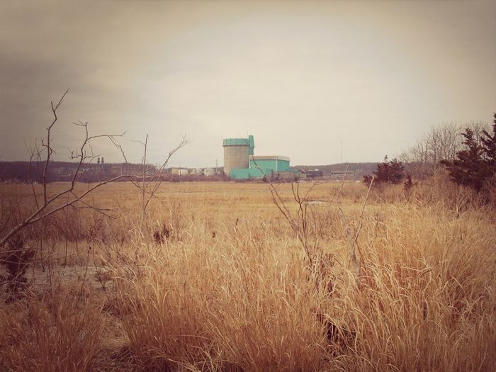 Abandoned Nuclear Plant