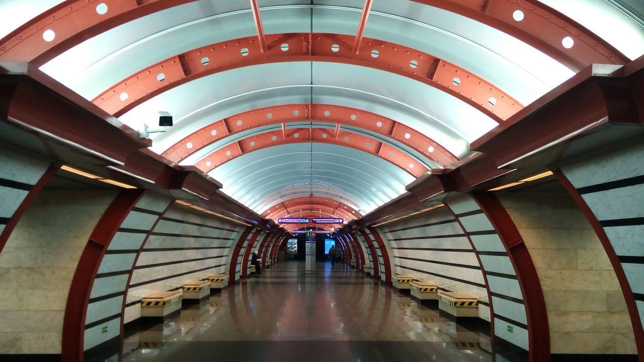 Metro Underground Architecture Obvodnoy Kanal Embras Urban Life BeautifullyOrganized Colors Of Sankt-Peterburg Sankt-Petersburg Russia
