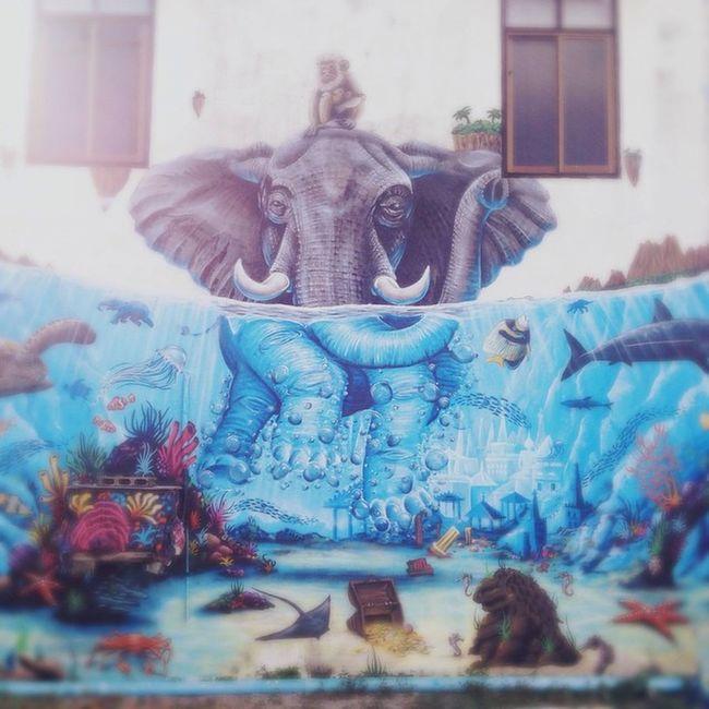 Streetart Art Travelling Travel Adventure Tags KohPhangan Travelblogger Iphangan