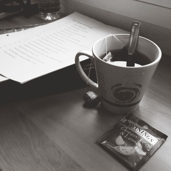 A cup of tea while I finish my work for next exam :) Exam Tea Twinings