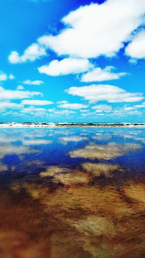 Live For The Story Beach Sky Necochea. Argentina Vacations