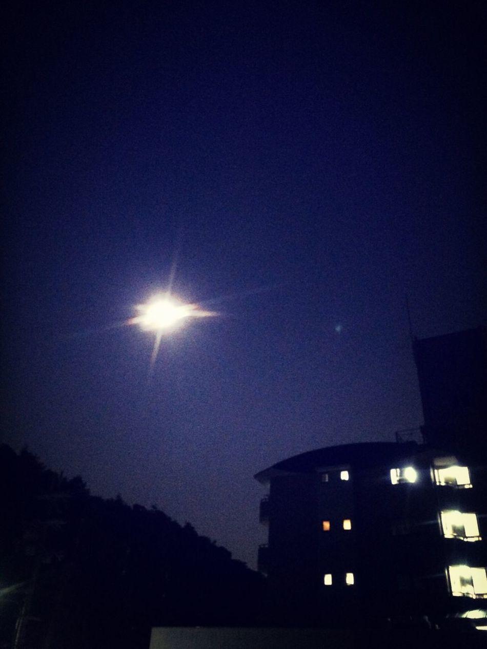 Tadaa Community Clouds And Sky moon light Taking Photos 名月かな?